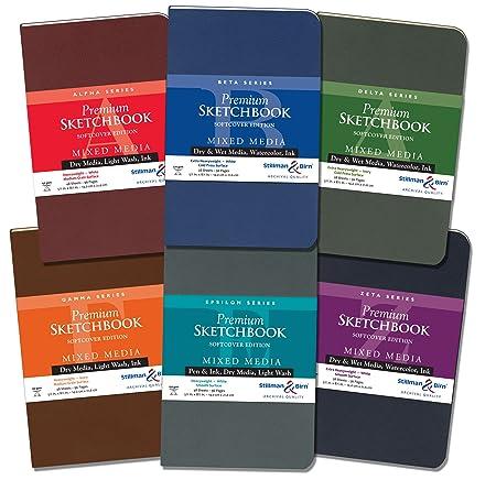 Jacksons 16 Sheets Softcover Sketchbook Landscape A5 120gsm