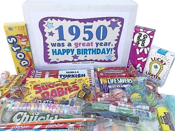 Woodstock Candy ~ 1950 69th cumpleaños caja de regalo ...