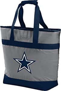 NFL Soft-Side Insulated Large Tote Cooler Bag, 30-Can Capacity (ALL TEAM OPTIONS)