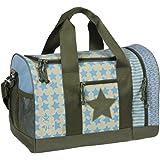 Lässig Mini Sportbag Sporttasche Schulsporttasche Kindergarten mit Schuhfach, Starlight Oliv