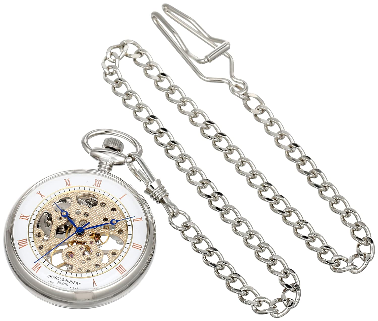 Charles-Hubert - Paris Open Face Mechanical Pocket Uhr