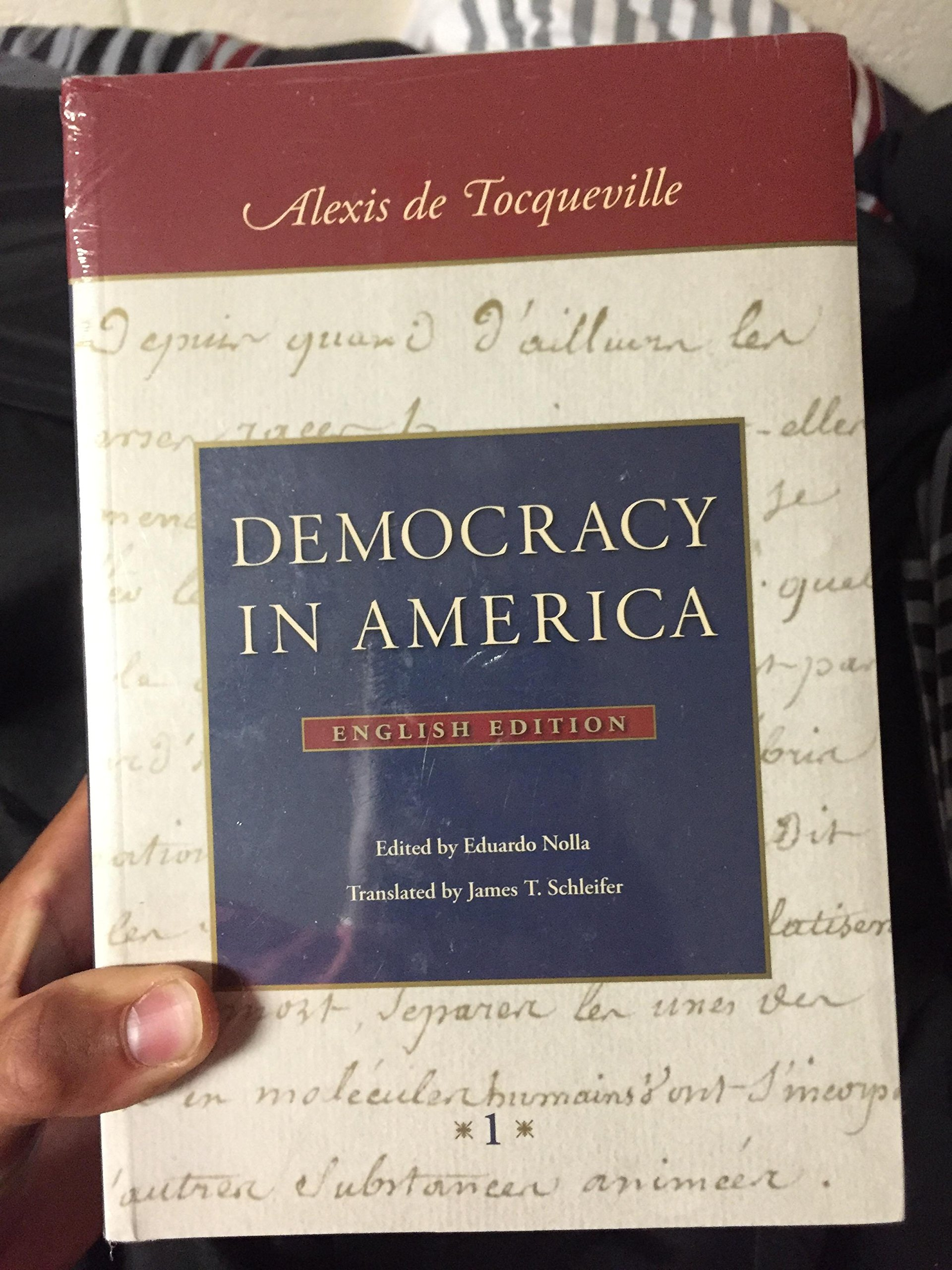 Democracy in America: Alexis De Tocqueville: 9780865978393: Amazon.com: Books