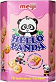 Meiji Hello Panda Cookies-L, Strawberry, 9.1 Ounce