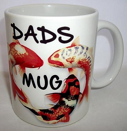 Koi Carp Design Dads Ceramic Mug Amazon Co Uk Kitchen Home