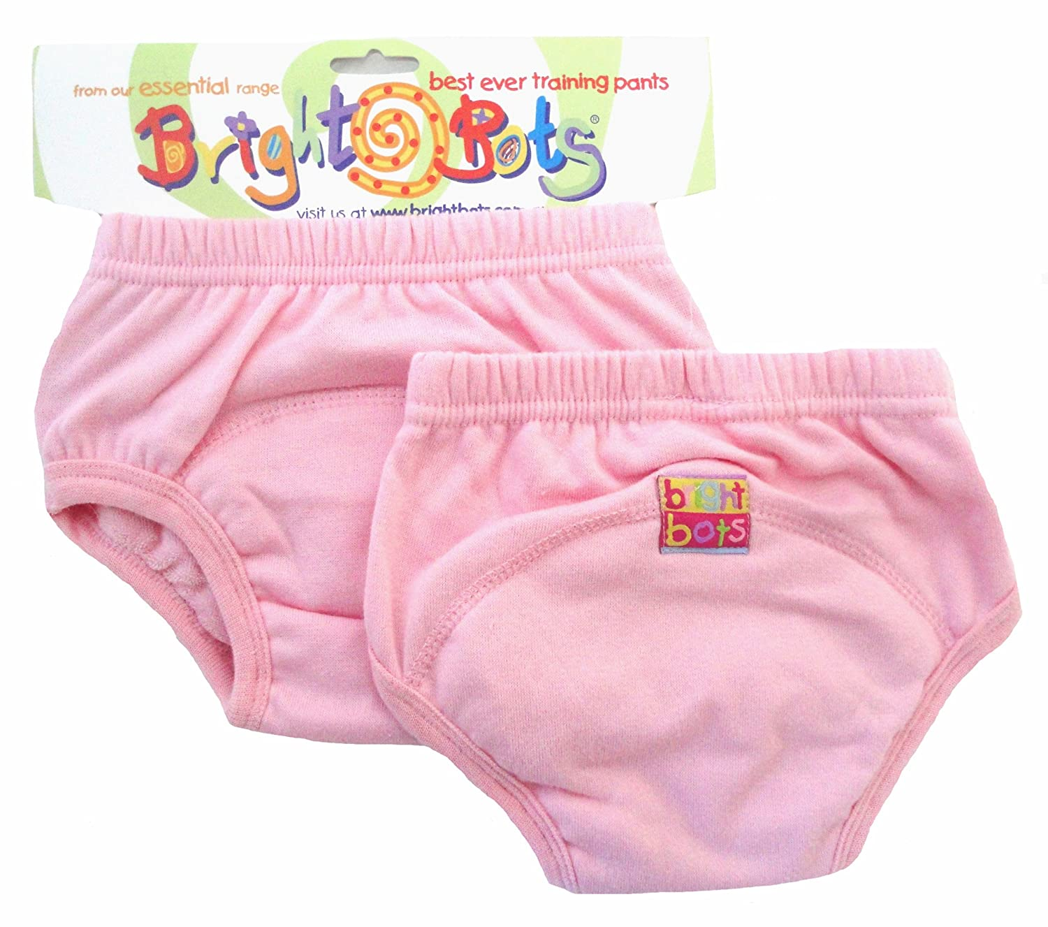 Bright Bots Potty (Rose Pâle, Lot de 2, taille M, 18–24 mois) 18-24 mois) 2PSETRA1-2PPM