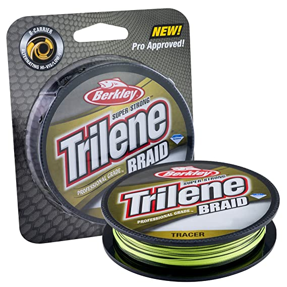 Amazon.com : Berkley Professional Grade Trilene Tracer Braid Fishing Line : Sports & Outdoors