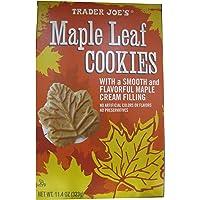 2 Pack Trader Joe's Maple Leaf Cookies