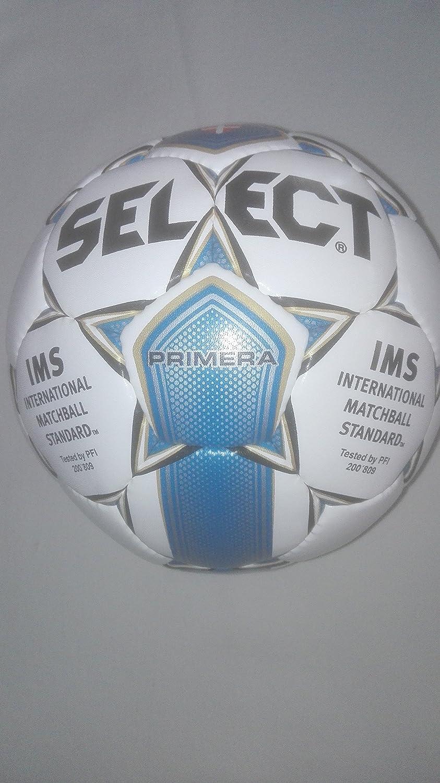 Select Balón de fútbol, fútbol Primera, color blanco/azul, tamaño ...