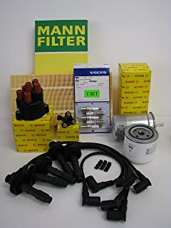 Complete Tune-Up Kit for Volvo 850 Spark Plugs Wires Filters OEM (Non-