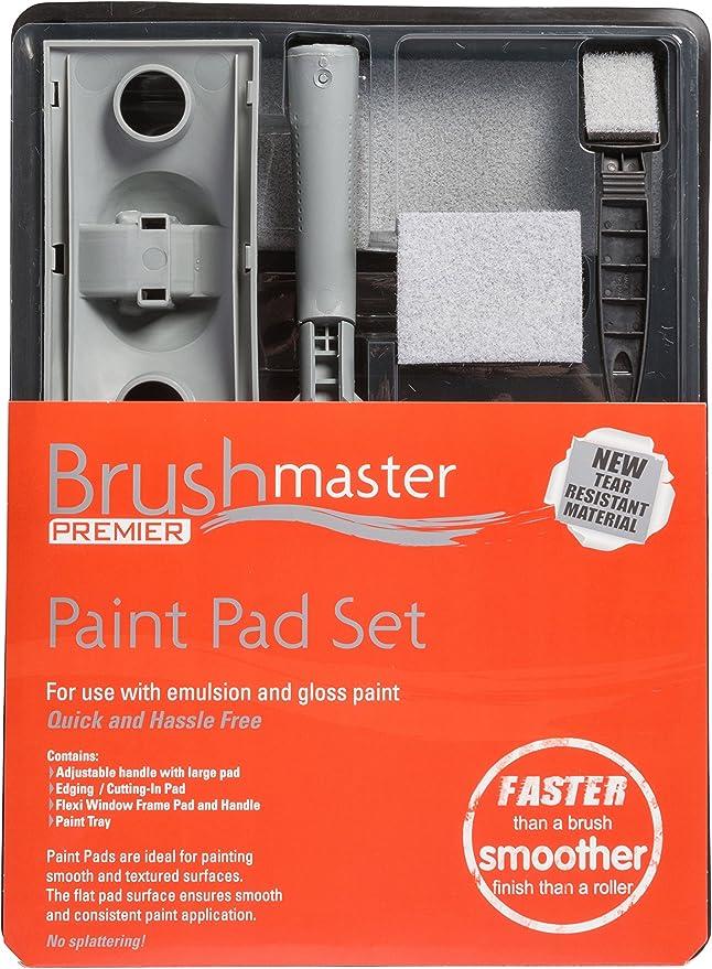 Juego de almohadillas de pintura para decoraci/ón de 7 Brushmaster Premier