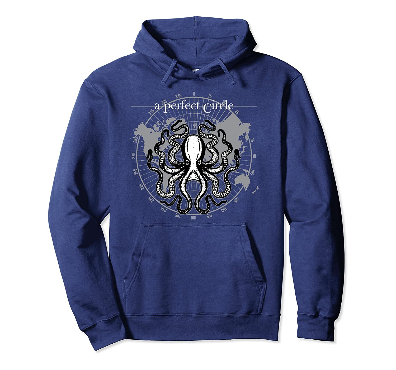 Perfect Circle Octopus Hoodie Sweatshirt-TH