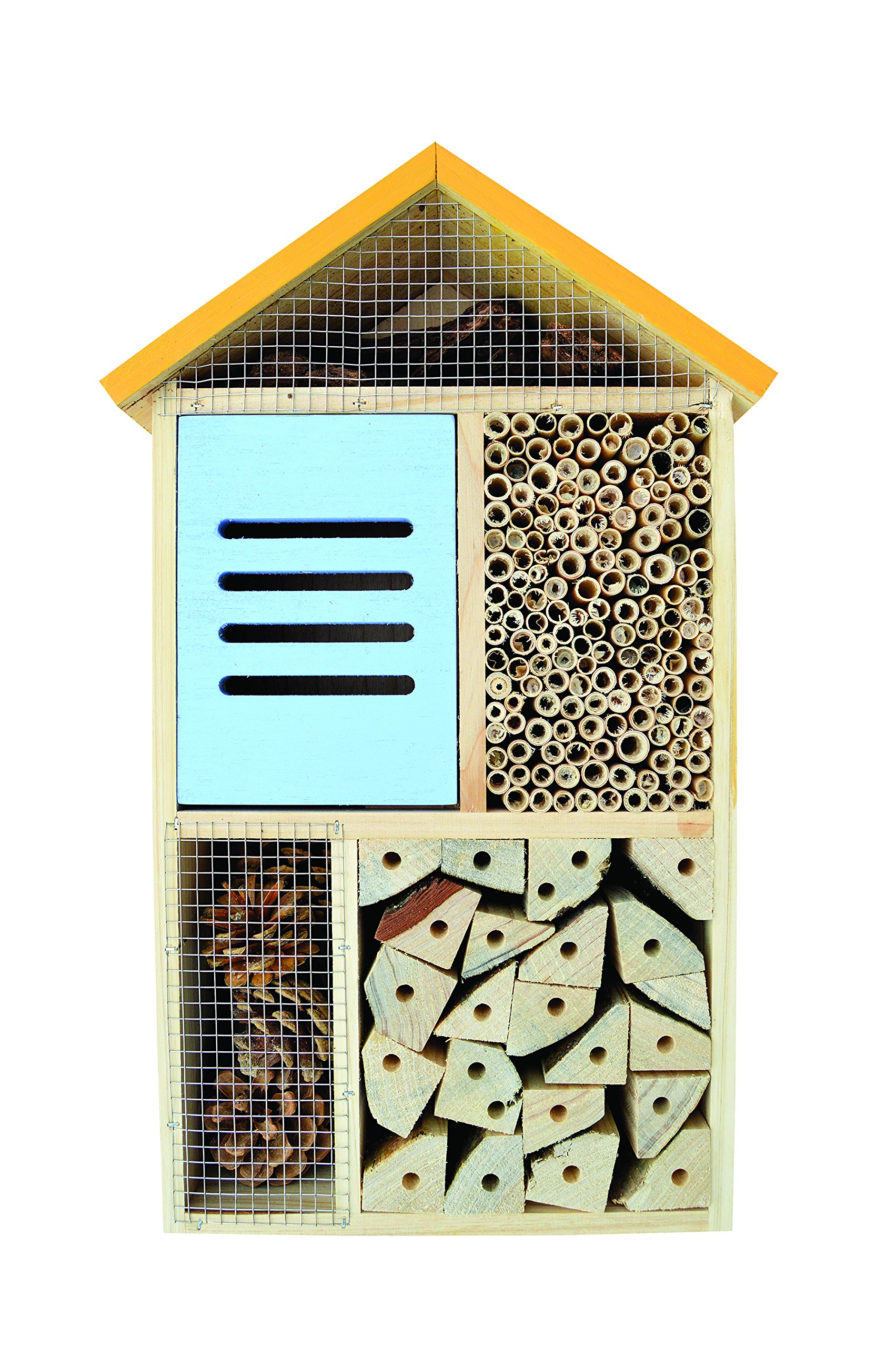 Nature's Way Bird Products CWH8 Better Gardens Deluxe Beneficial Insect House, 5 Chamber