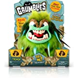 Pomsies Grumblies Tremor Plush Interactive Toys, Green, One Size