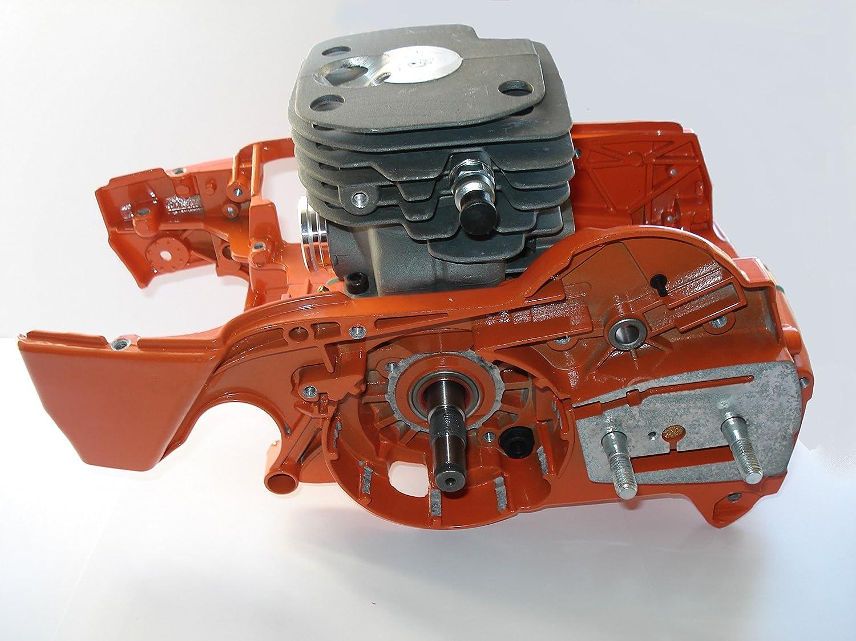 Motor komplett anpassbar Zylinder 52 mm, Husqvarna, 362 und 372 371 365