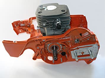 Motor cilindro 52mm completo adaptables Husqvarna 362, 365, 371 y ...