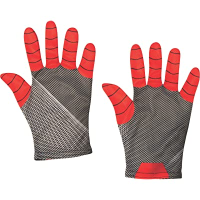 Rubie's Marvel Spider-Man Far from Home Child's Spider-Man Costume Gloves: Toys & Games