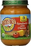 Earth's Best Organic Stage 3, Spaghetti with Cheese, 6 Ounce Jar (Pack of 12)
