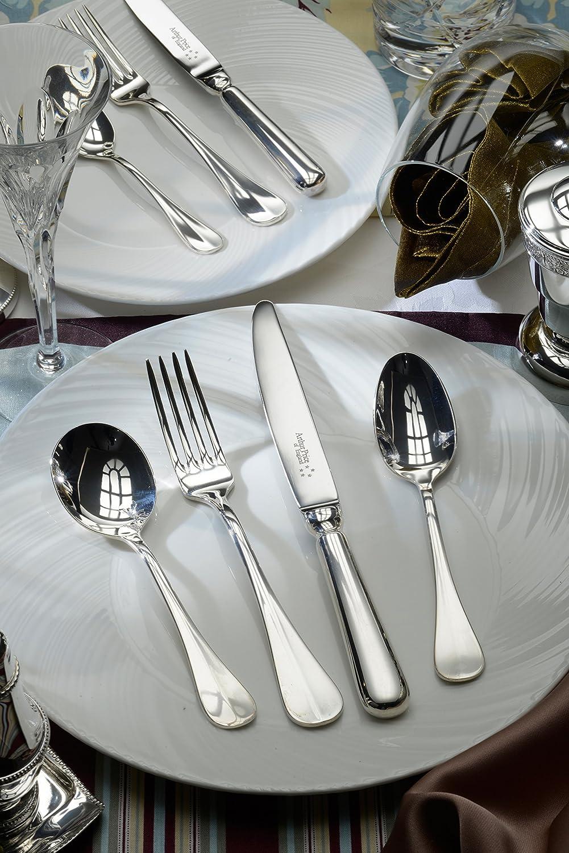 Arthur Price Of England 60 Piezas Baguette 25 años bañado en Plata Canteen Set de Cubiertos 8 Personas: Amazon.es: Hogar