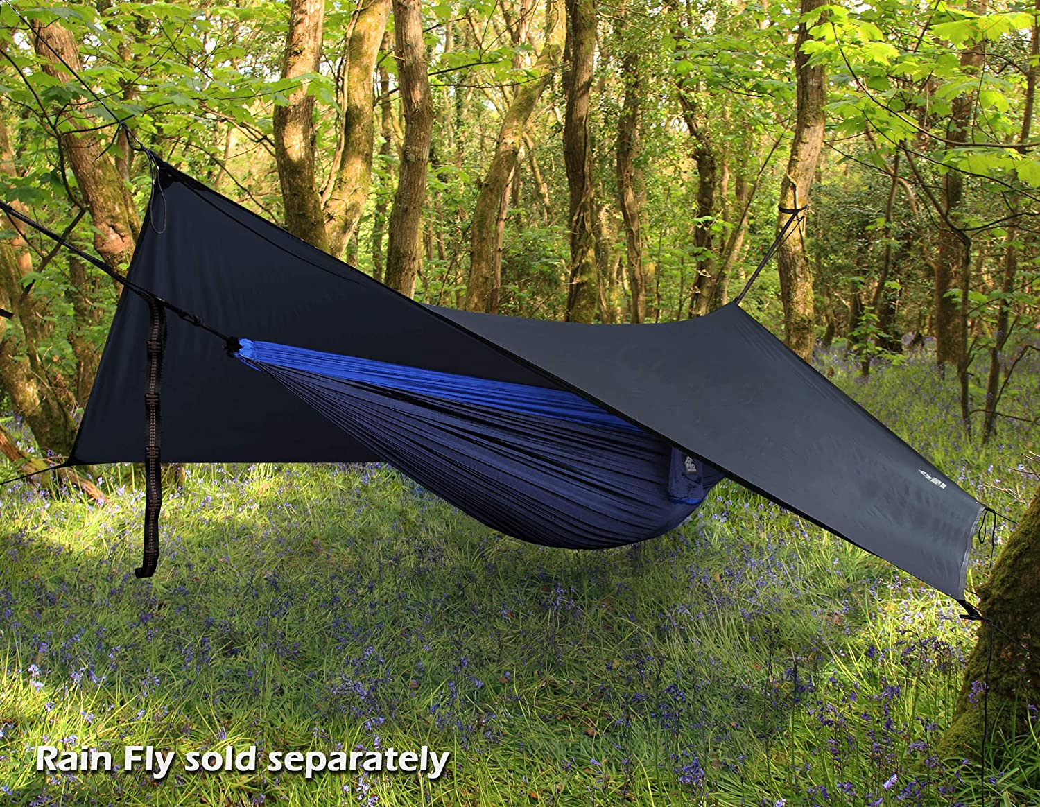 Backpacker Approved and Ready for Adventure! Double and Single Camping Hammocks Lightweight and Compact Parachute Nylon Hammock with Free Premium Straps /& Carabiners