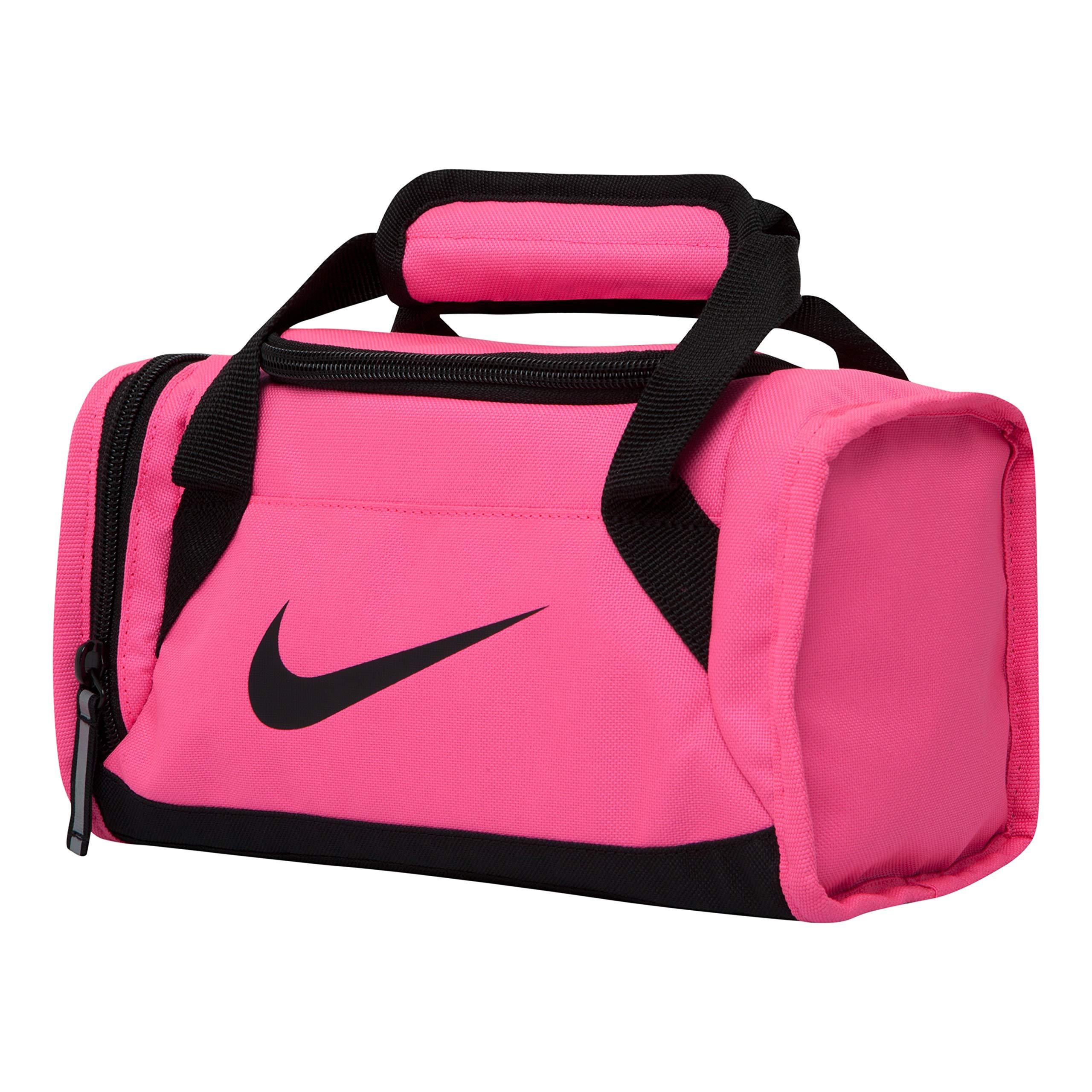 NIKE Kids Womens Mens Lunch Bag (Pink Pow)
