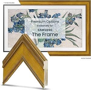 """Deco TV Frames - Antique Gold Smart Frame Compatible with Samsung The Frame TV (32"""")"""