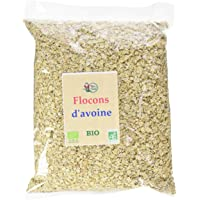 RITA LA BELLE Flocons d'Avoine Bio 1 kg - Lot de 2