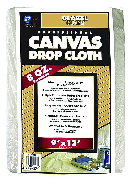 premier 9u0027 x 12u0027 standard canvas drop cloth 8 oz