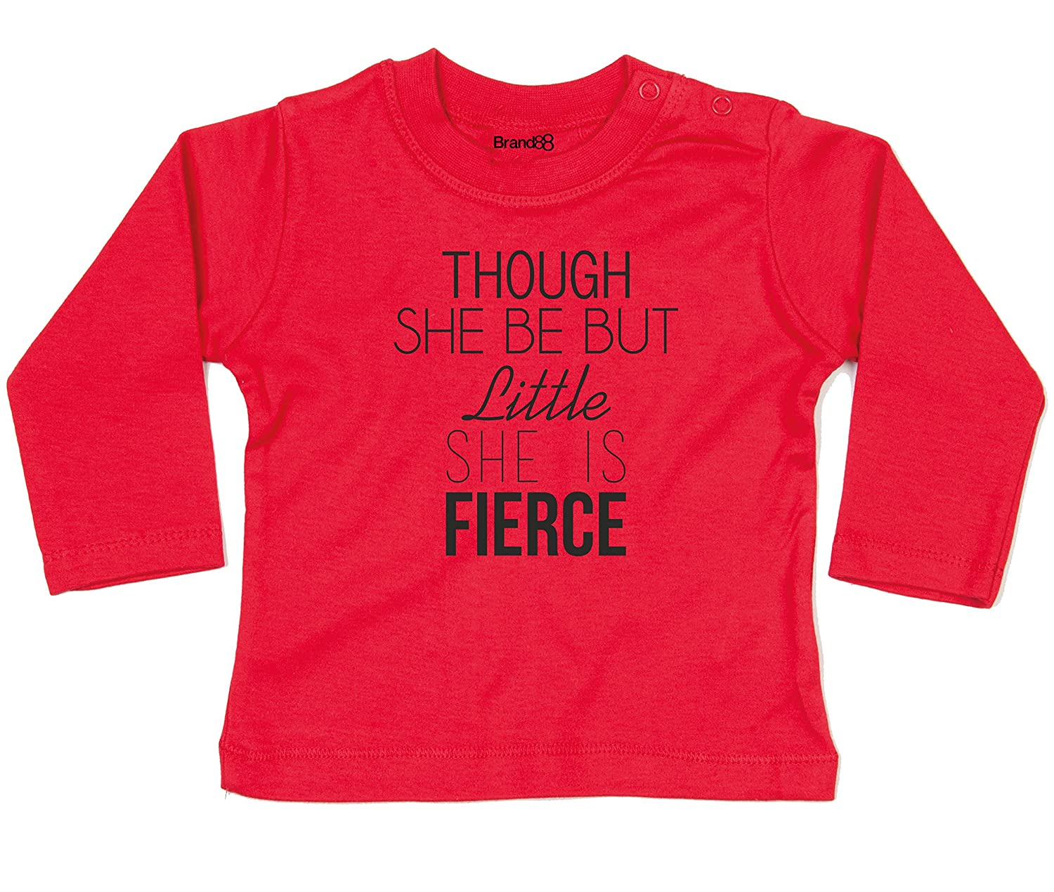 Brand88 She is Fierce, Baby L/S T BZ011_GY029