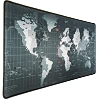 WORLD Mouse Pad Extended Large, Gaming Mouse Pad, Desk Accessories For Men, Computer Keyboard, Pc And Laptop, World Map…