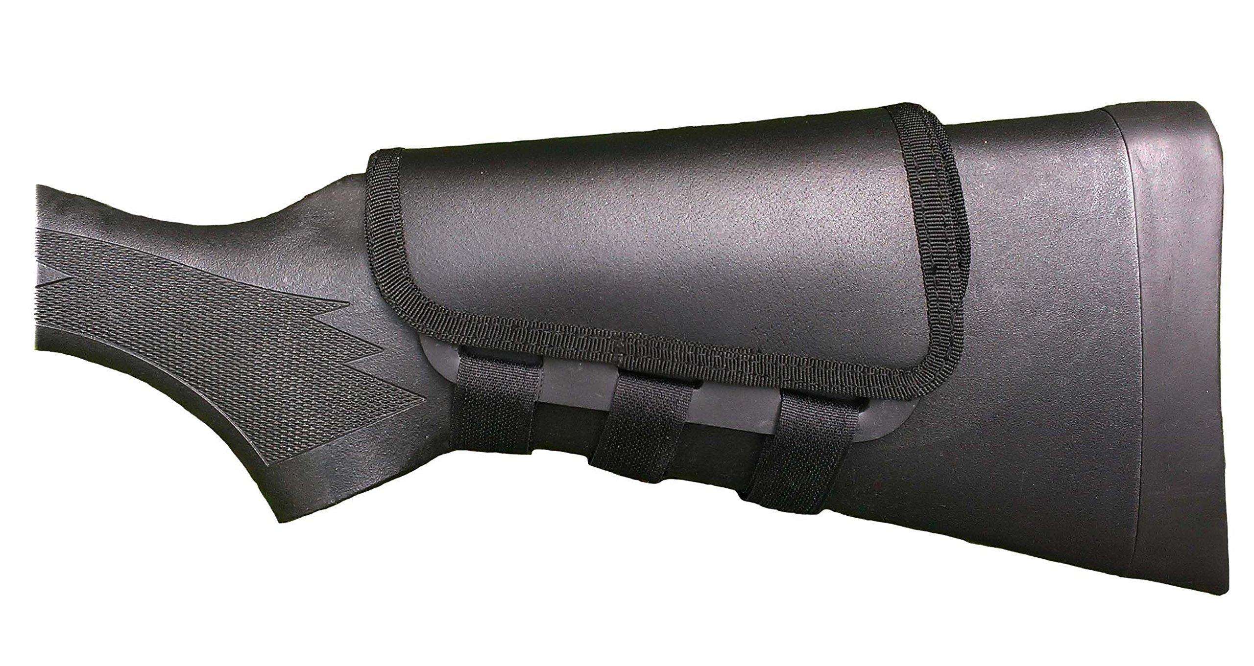 ITC Rifle Cheek Pad/Cheek Riser/CheekRest Marksmanship/Top Grain Black Leather by ITC