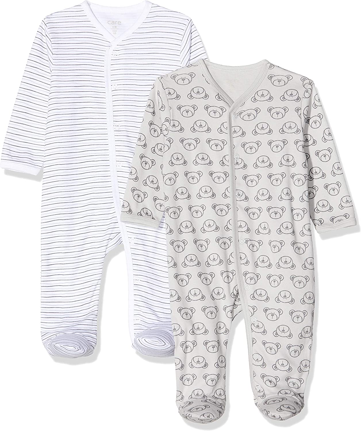 Care Unisex Baby 4136 Long Sleeve Romper
