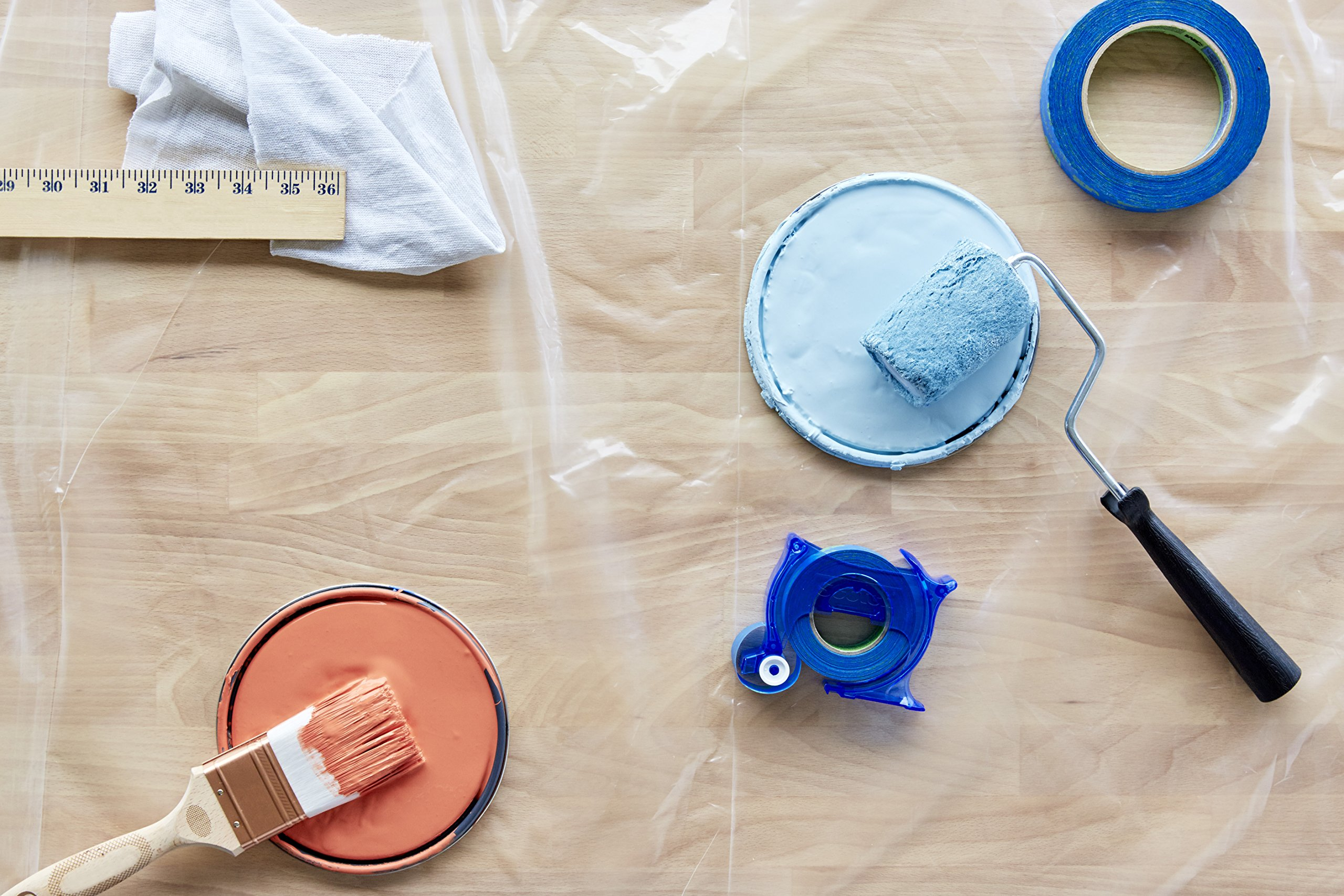 ScotchBlue TRIM + BASEBOARDS Painter's Tape Applicator, 1-Inch x 25-Yards, 1 Roll by ScotchBlue (Image #5)