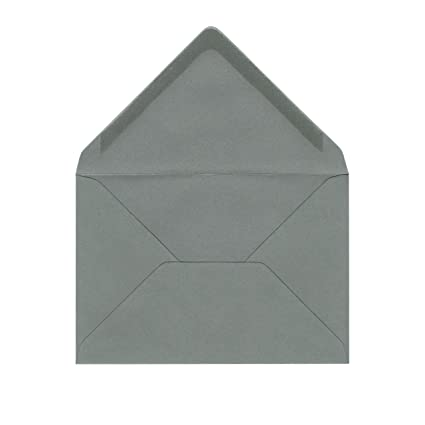 Sobres C6 gris piedra - Sobres gris oscuro - 120 g/m² - para ...