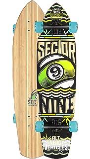 Amazon.com   Sector 9 Swamis Complete Longboard Skateboard Cruiser ... 275396c5883