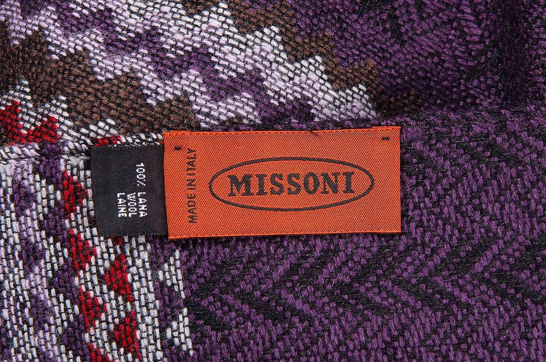 ON Orange Label Missoni Schal Scarf Scialle Sciarpa Chal Bufanda