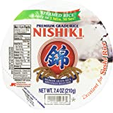 Nishiki Steamed White Rice, 7.4-Ounce (Pack of 6)