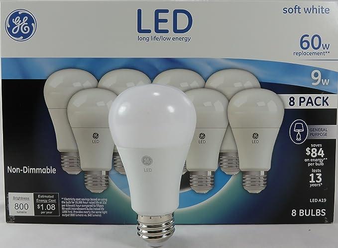 Amazon.com: GE B071VFHXSY - Bombilla LED de repuesto (60 W ...