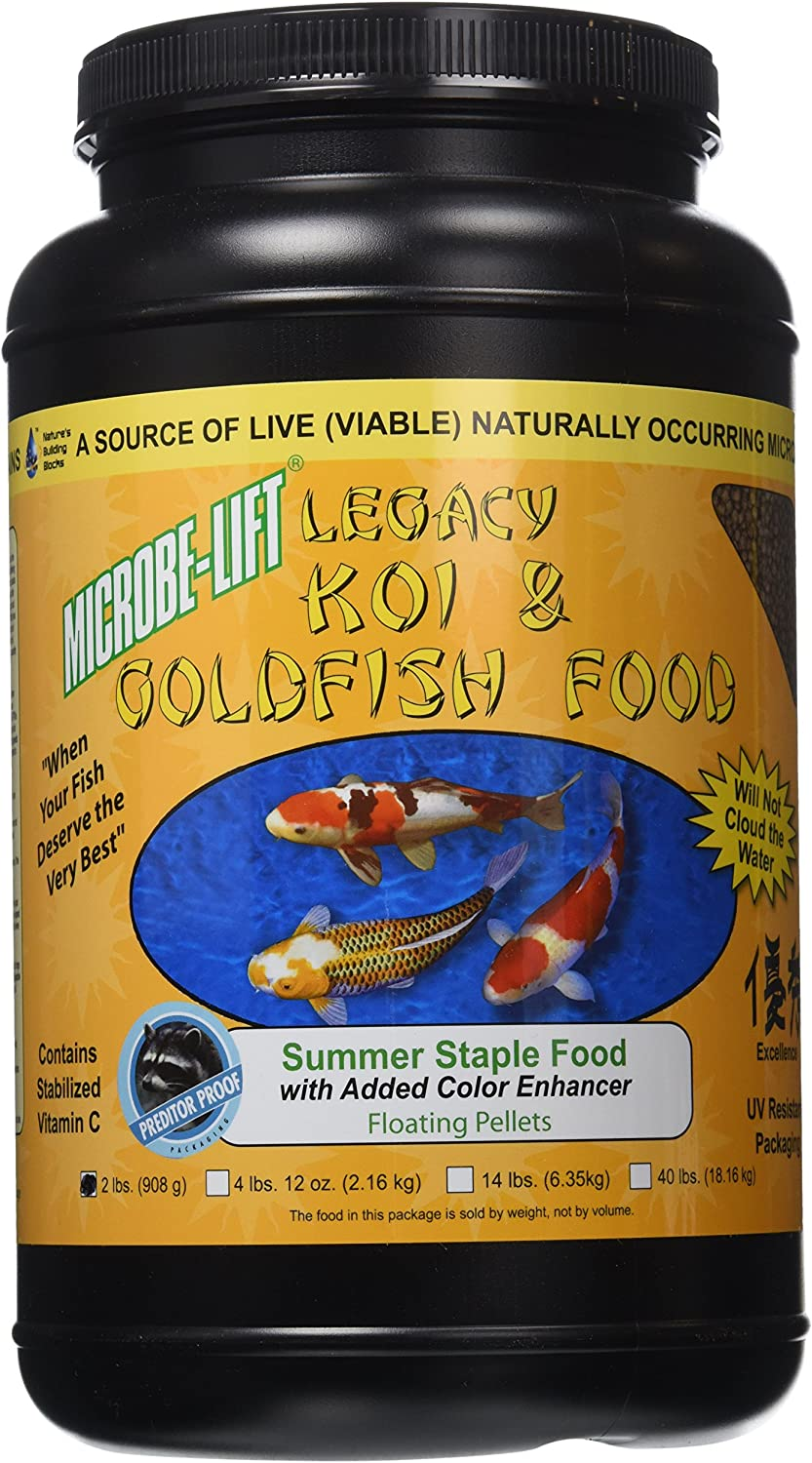 Eco Labs MLLSSMD Summer Staple Koi and Goldfish Food, 2-Pound
