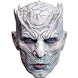 Trick Or Treat Studios - Máscara de Cabeza Completa para Hombre, diseño de Game of Thrones-Night