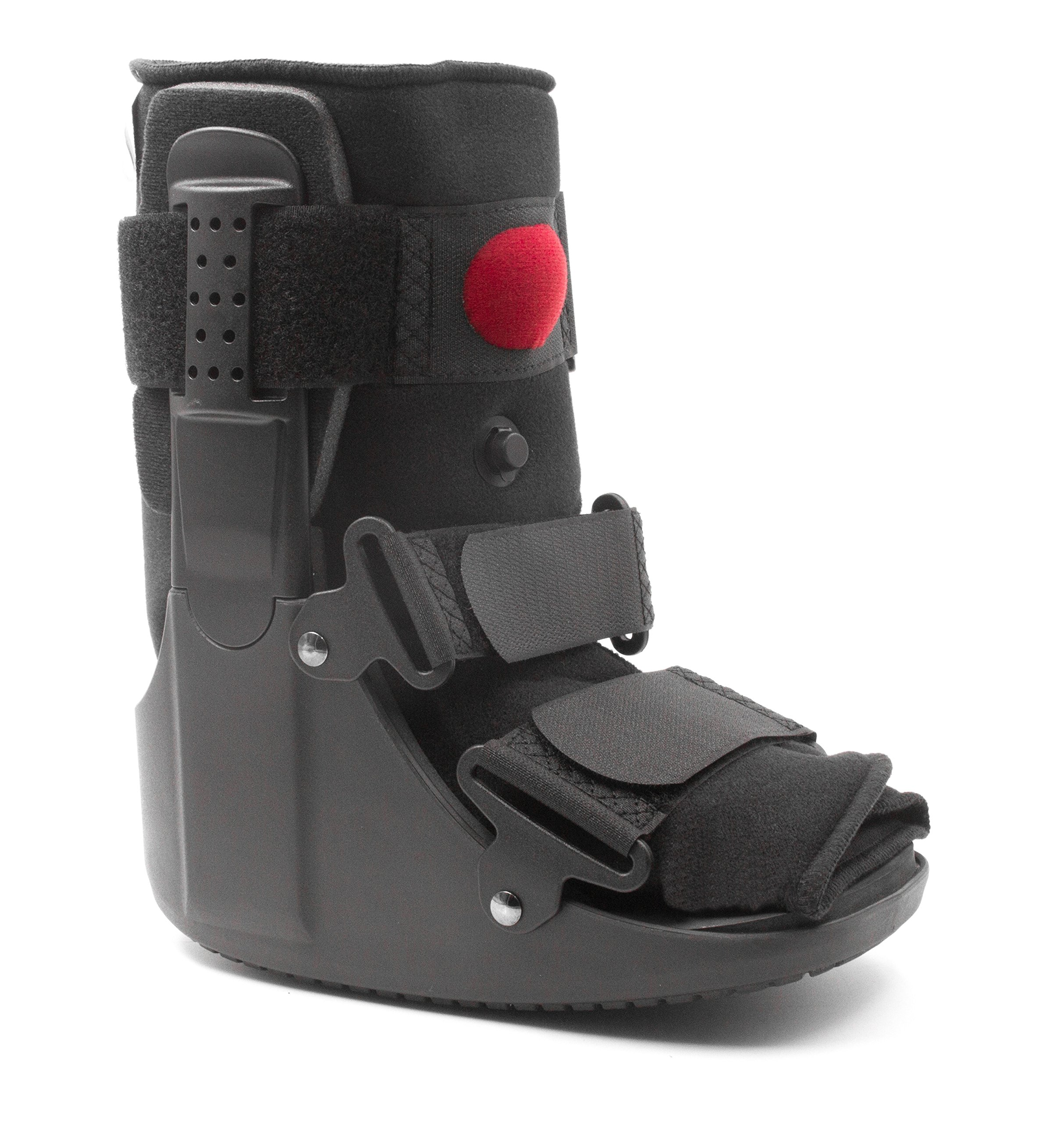 Mars Wellness Premium Short Air Cam Walker Fracture Ankle/Foot Stabilizer Boot - Medium by MARS Wellness