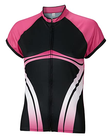 1771f9bf13 Amazon.com   BDI Cycling Apparel Elitta Women s E-Full Zip Wave ...