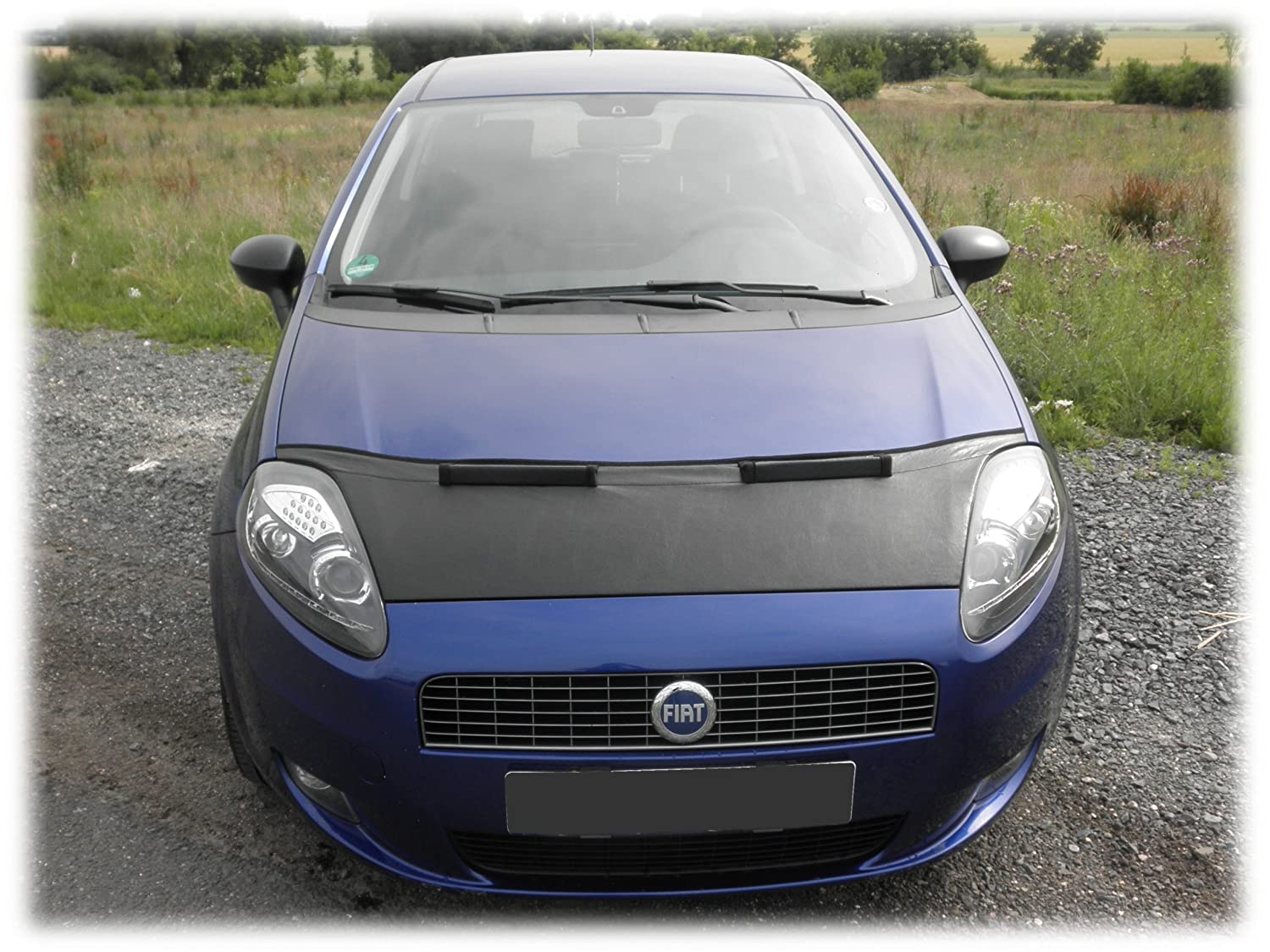 Amazon com: HOOD BRA Front End Nose Mask for Fiat Punto EVO