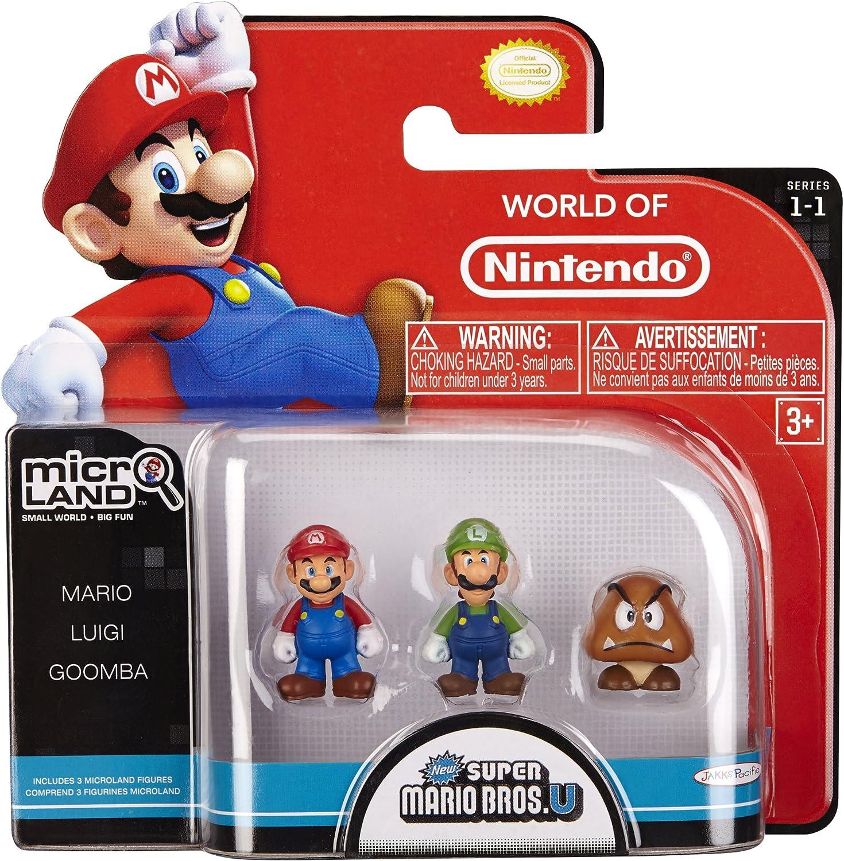 Amazon Com Nintendo Mario Bros Universe Micro Wave 1 Mario