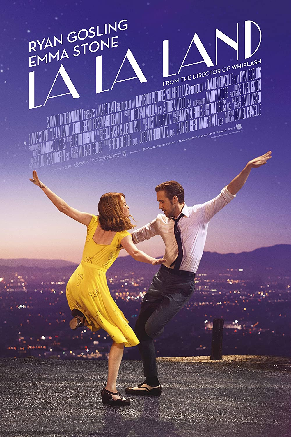 Amazon.com: La La Land Movie Poster 24 x 36 Inches : Ryan Gosling ...