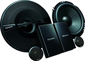 Sony XSGS1621C GS Series 6.5-Inch 2-Way Component Speakers, Set of 2