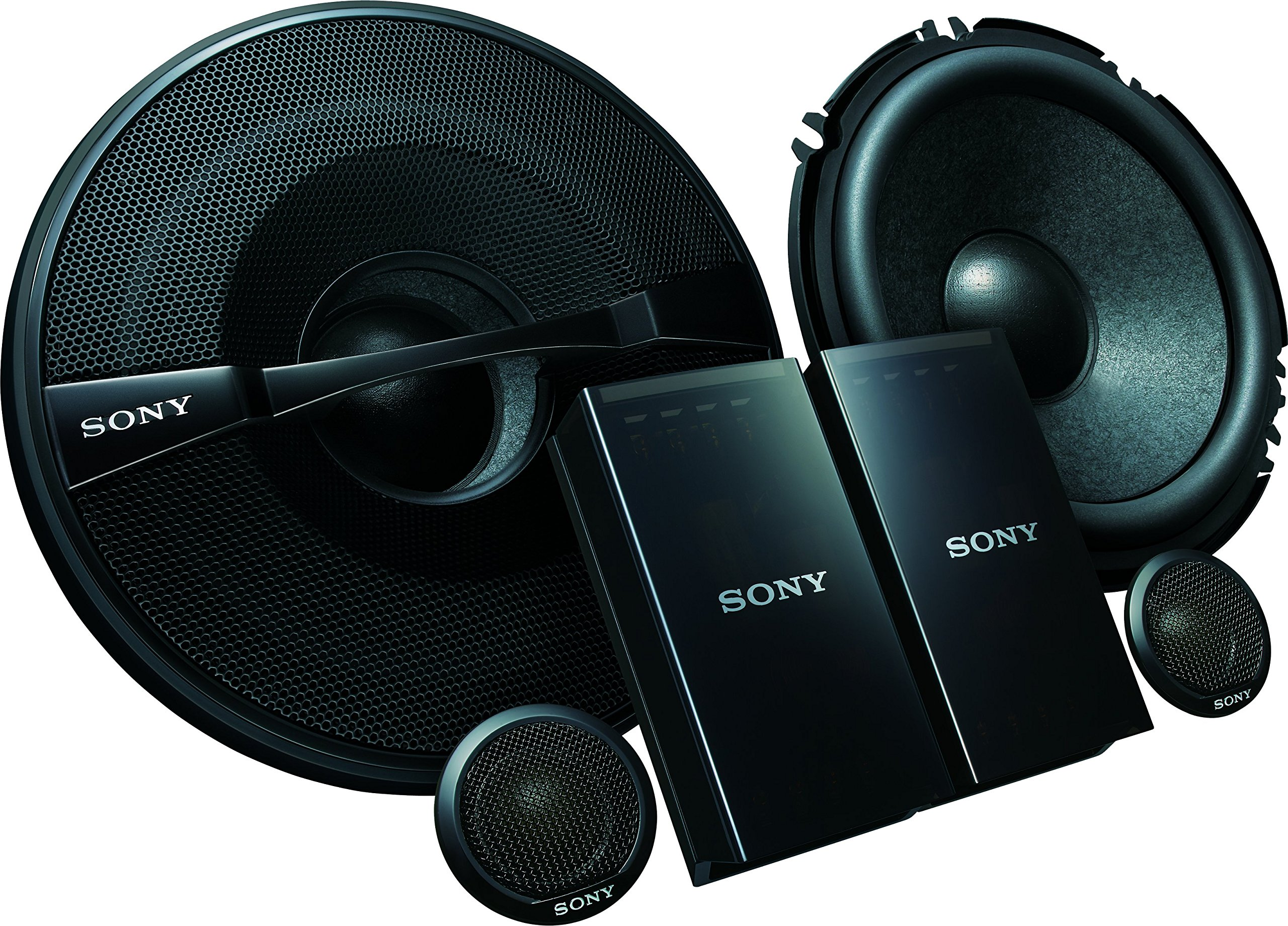 Sony XSGS1621C GS Series 6.5-Inch 2-Way Component Speakers, Set of 2 by Sony