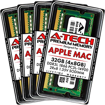 32GB DDR3 Laptop RAM Samsung 4x8GB Memory PC3L 12800 LOT 8GB So-DIMMs Sticks Mem