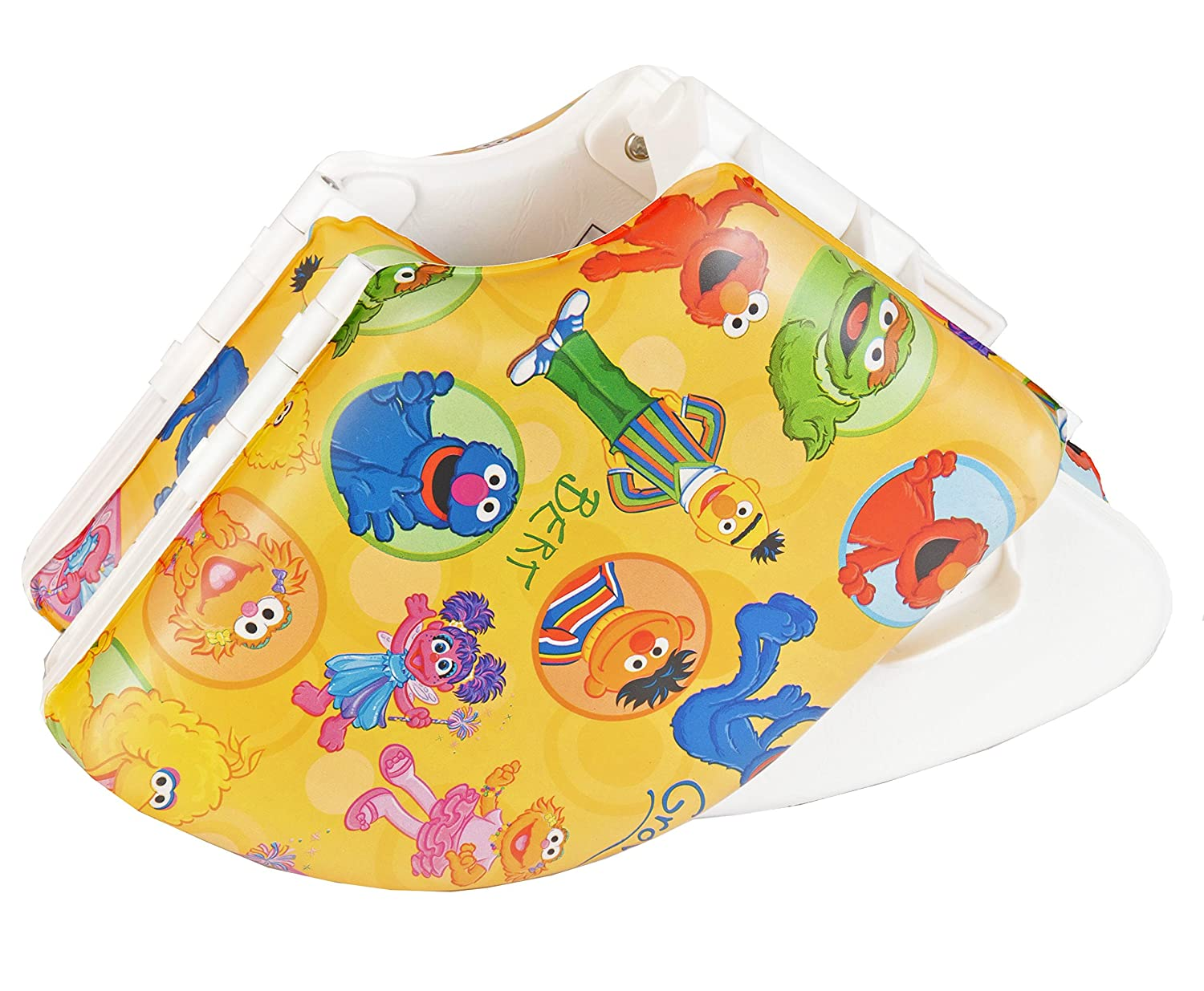 Sesame St Framed Friends Cushioned Folding Travel Potty Seat