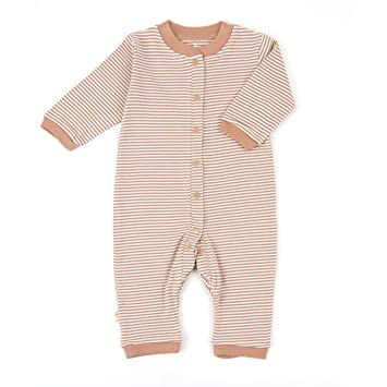 655a6ad10809 Amazon.com  Tadpoles Organic Double Knit Cotton Footless Snap Front ...