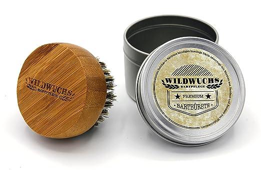 5 opinioni per Wildwuchs Bartpflege- spazzola da barba in bambù con setole in pelo di cinghiale